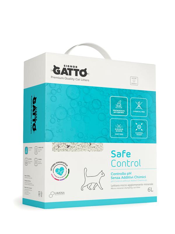 Lettiera Con Controllo Ph Senza Additivi Chimici Signor Gatto